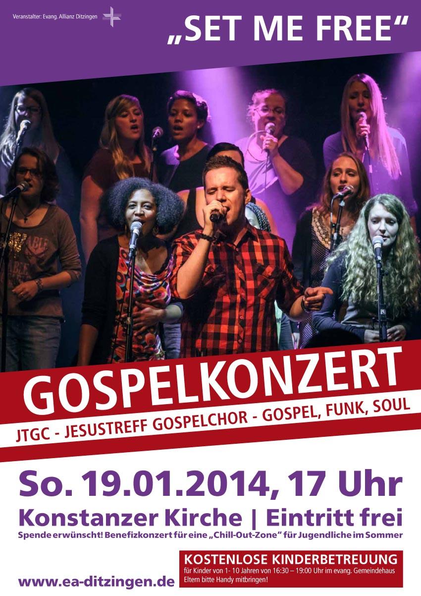Gospelkonzert 2014