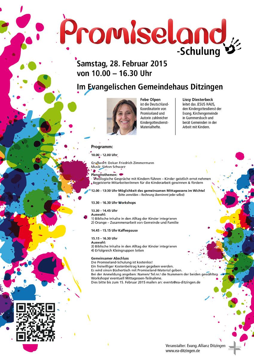Promiseland Schulung 2015